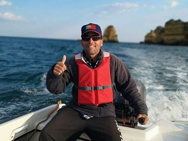 Captain Rui Pedro